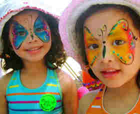 face painting in new jersey